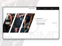 Fitness website Banner