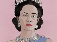 The Queen in The Crown