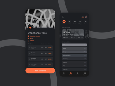 Betting Game App Design