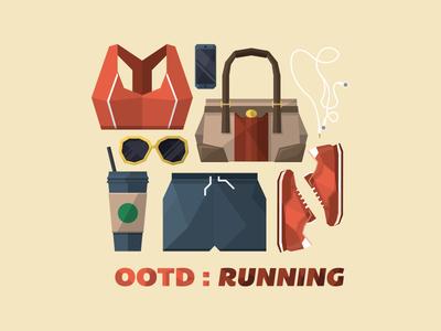 OOTD : running