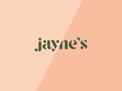 Jayne's cannabis logo cannabis branding design branding vector