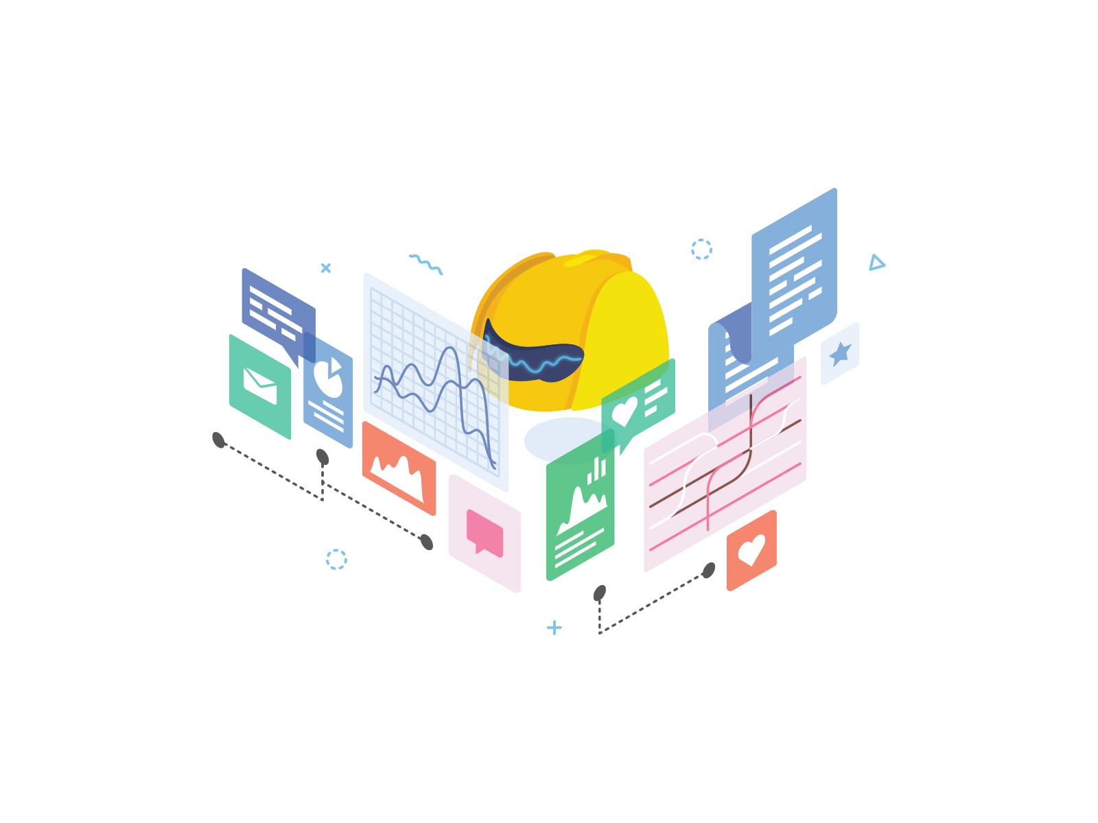 Machinelearning illustration