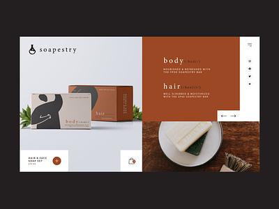 Soapestry Digital UI ecommerce webdesign digital ux graphic  design ui