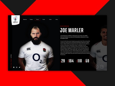 Japan Rugby World Cup 2019 type minimal website flat app web ux ui creatives bristol graphic  design design digital web design