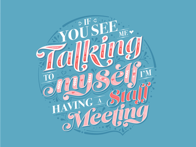Daily Designer Realities funny cute lettering