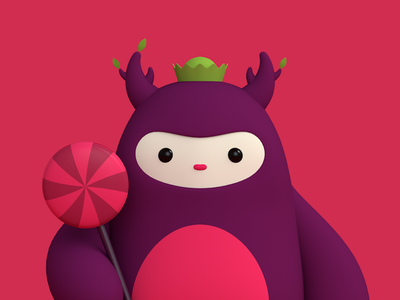 Imaginary Friends monster cute charater cgi c4d 3d