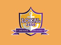 Local 2550: One Voice, One Sound (Logo)