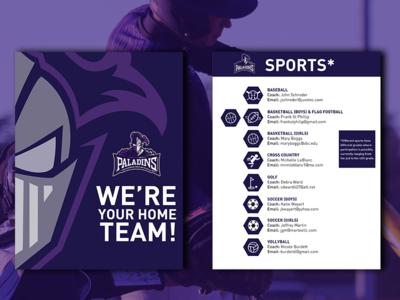Pontchartrain Christian Athletics Team Flyer (Rebound)