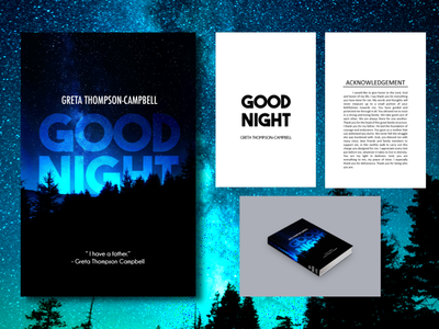 Good Night (Book Cover + Pages)