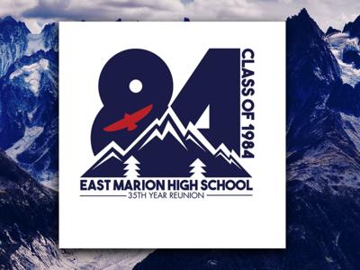 EMHS: 35th Year Class Reunion (T-shirt Design)