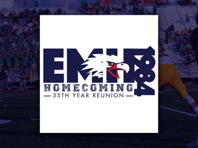 EMHS: 35th Year Reunion (Homecoming T-shirt Design)