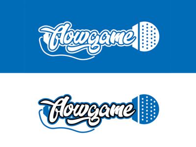 Flow Game (Blank Game Logo Series #3)