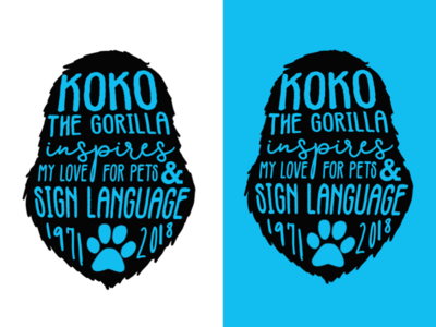 Koko The Gorilla Inspires My Love for Pets & Sign Language