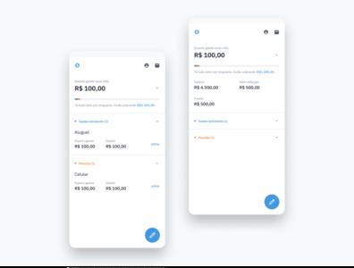 Cash burn! tailwindcss market product design financial app finance