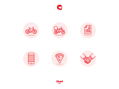 Driver Product: Custom Icons custom icons ifood ui product app driver