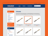 Traditional Tool Shop eCommerce Website (WIP)
