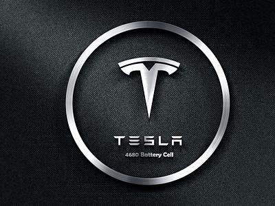 Tesla Logo typography vector logo illustration design adobe illustrator vector logo branding
