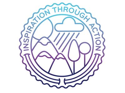 Inspiration Through Action logo nature