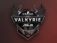 ROG Valkyrie - A Tournament Logo Design