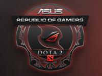 ROG Dota 2 Cup - Logo Design