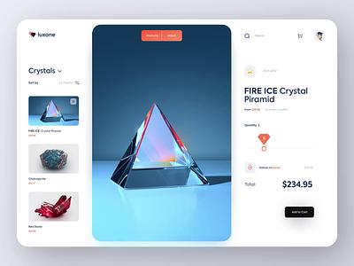 💎 luxone - Ordering Page design ui ux gradient luxury app website landing page graphic design logo 3d branding motion graphics animation