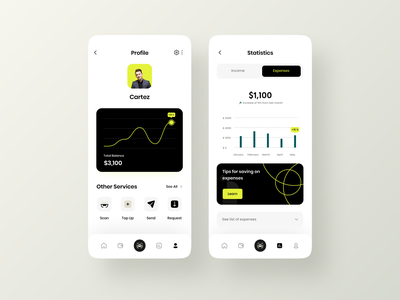 Dana - Finance App Design banking app financial app finances banking retro branding design website ui app design illustration platfrom app design ui ux fintech product design graphic design branding transactions