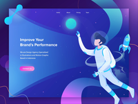 Improve Your Brand's Performance Animation Header