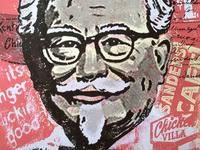 Colonel Sanders Tribute Poster
