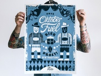 Oktober Fuel Poster