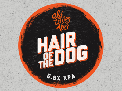 Hair of the dog - Tap decal