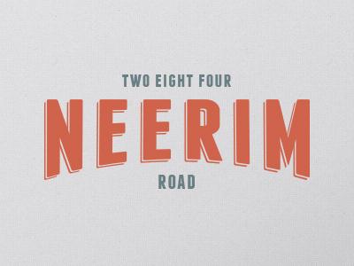 Neerim Road
