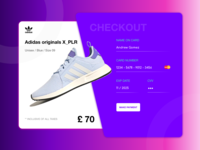 DailyUI #002 Credit card checkout