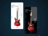 Guitar shopping re-design