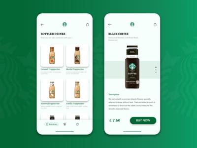 Starbucks Re-design