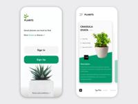Plants App UI
