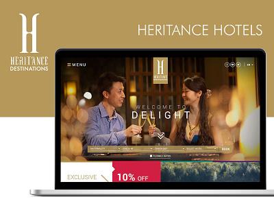 Heritance Hotels ux ui