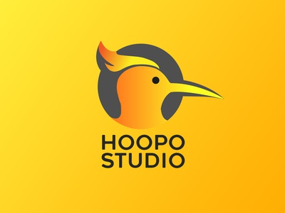 HOOPO STUDIO logo design