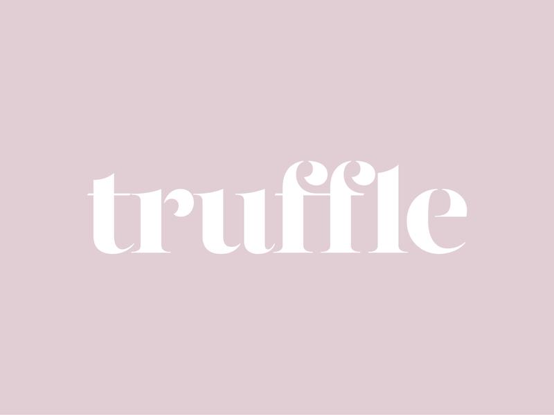 Truffle – Brand Identity – Logo fashion brand logo branding