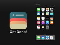 Get Done! App Icon Design