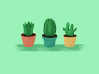 Happy Cactus Friends
