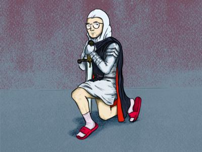 Knight in Flip-Flops
