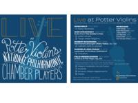 Album Cover - Live at Potter Violins