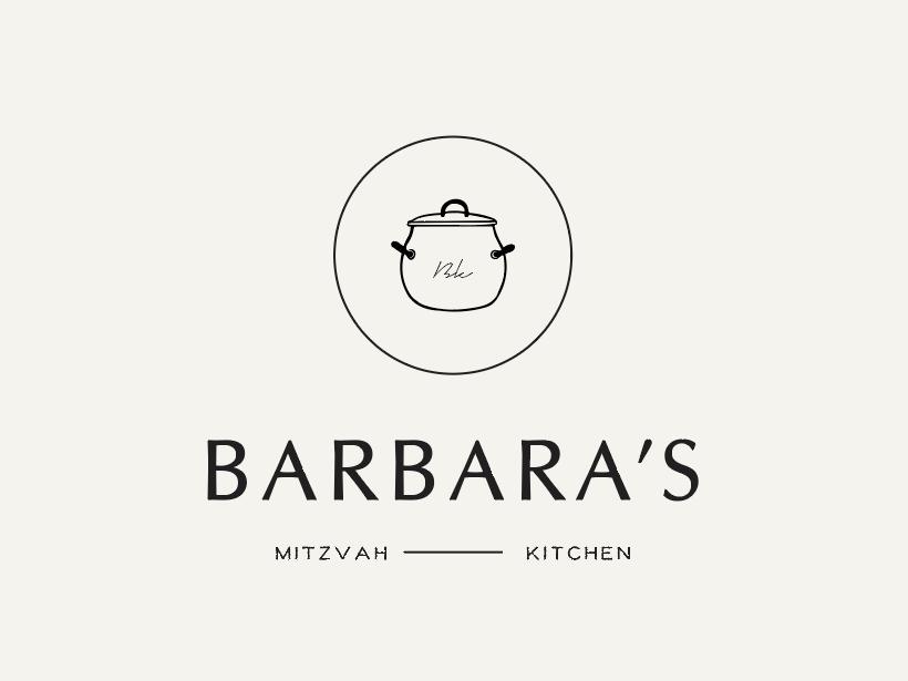 Minimal logo design - Kitchen vector brand logo design food brand identity logo