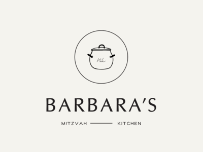 Minimal logo design - Kitchen
