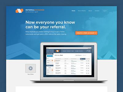 Landing Page web design landing page