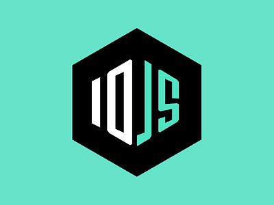 Logo for io.js branding logo