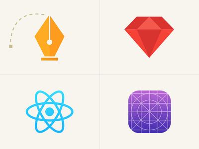 What we do ios react rails vector ui icons