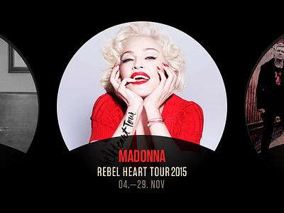 MLK - Madonna website web madonna music