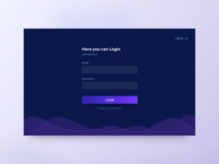 Login page (White & Dark mode)