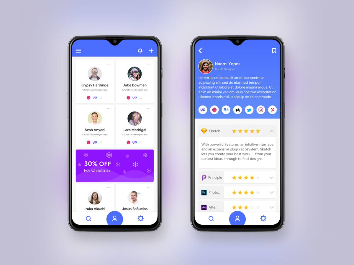 my resume app concept by mojtaba on dribbble